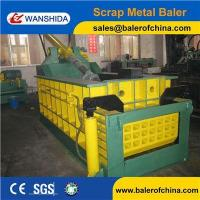 Buy cheap WANSHIDA CE Certification Hydraulic Scrap Steel Metal Compactor Baling Press Baler product