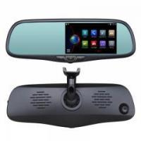 "Buy cheap Rear View Replacement Mirror Monitor with 5"" Android Operated Display, ADAS System from Wholesalers"