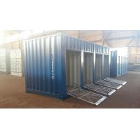 20ft motorcycle trunk room container with shutter door