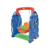 Buy cheap manufacture indoor kids plastic swing/indoor playground from Wholesalers