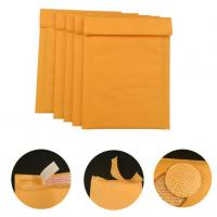 Buy cheap #000 4x8 Secure Self-seal Golden Yellow Kraft Bubble Padded Mailers for Shipping Mailing Suppplies from wholesalers