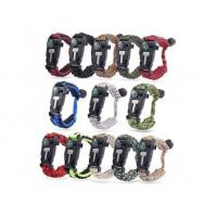 Buy cheap Multifunctional Outdoor Adventure 550 paracord bracelet kit from Wholesalers