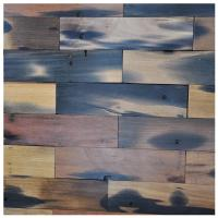 Buy cheap A15601 - Reclaimed Wood Wall Paneling Interior Wall Tiles 4 X 16 In from wholesalers
