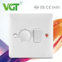 Buy cheap British type Switch Socket S881 1gang switch with 1gang fan dimmer product