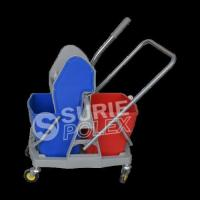Double Mop Wringer Trolley-Down Press
