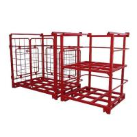 Buy cheap Movable and Convenient Flexible Powder-coated Stacking Rack product