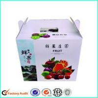 Corrugated Cardboard Carton Boxes For Fruits and Vegetables