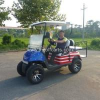 Buy cheap factory 4 seater gas or battery powered golf carts for sale product