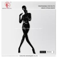 China strange fork legs pose for female black mannequin on sale