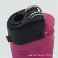 Buy cheap 8.2cm Disposable Frost ISO Flint Lighter product