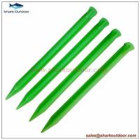 Buy cheap Plastic tent peg 12 inch from Wholesalers