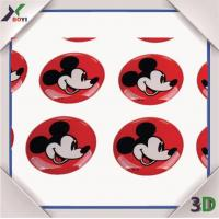 Promotional Gifts Disney cartoon Epoxy Dome Sticker