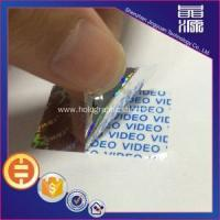 Buy cheap Hologram 3d Tamper Proof Sticker Seals product