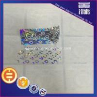 Buy cheap Custom 3d Tamper Proof Hologram Stickers product