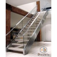 Stainless Steel Stringer Stairs for Indoor