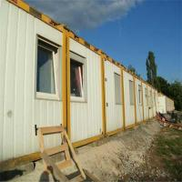 Buy cheap Fashion-designed Fine Quality Movable Flat Pack Sandwich Panel Inhabitable Container Office from wholesalers