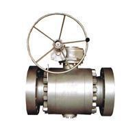Buy cheap Ball valve Flange connection fixed ball valve product
