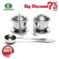 Buy cheap Popular gift tea infuser set infuser with coffee spoon product
