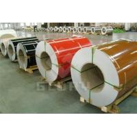Buy cheap PVDF color coated aluminum coil product