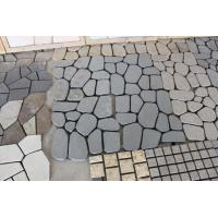 Buy cheap Granite Cobblestone Paving With Net product