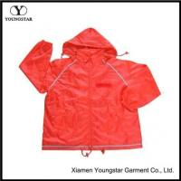 Buy cheap Polyester Windbreaker Jacket With AC Coating product