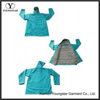 Buy cheap Chic Style Waterproof Long Rain Coat For Adult With Lined product