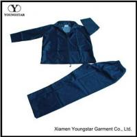 Buy cheap Cheap Two Piece Mens Polyester Rain Suit Gear For Fishing product