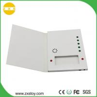 Buy cheap USB Rechargeable Paper Talking Voice Recorder Greeting Card with Chocolate Slot product