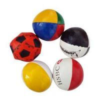 Buy cheap PVC Leather Custom Hacky Sacks Juggling Ball for Sales Promotion product