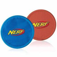 Buy cheap Nerf Dog Nylon Flying Disk Dog Toy, Large, 2-Pack, Blue and Red product