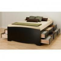 Buy cheap Sienna Platform Bed | Caramelized product