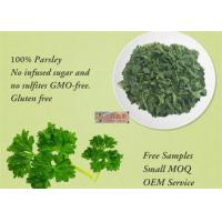 Freeze Dried Dehydrated Vegetable Flakes Parsley For Healthy Food Ingredients