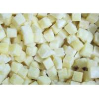 Frozen Cubed Potatoes Organic Frozen Fruit With Packing Blue PE Bags