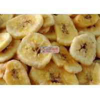 Buy cheap Natural Sweet Freeze Dried Banana Chips No Added Sugar Longer Shelf Life product