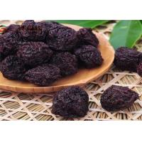 Sour Natural Tropical Freeze Dried Fruit Plum No Additives / Preservatives