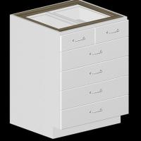 Buy cheap 5 Drawer Kitchen Base Cabinet product