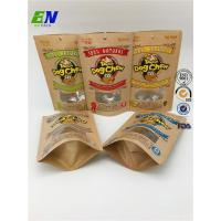 Buy cheap Kraft Paper Stand Up Coffee Bag Foil Lined product