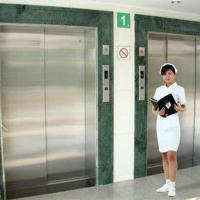 Buy cheap Hospital Patient Trolley Elevators High Rise MRL Stretcher Lift Special Elevators product