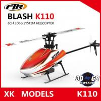 China Wltoys XK K110 Blash 6CH Brushless 3D6G System radio control RC Helicopter RTF r on sale