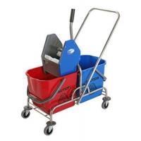 Buy cheap DOUBLE MOP WRINGER TROLLEY BUCKET product