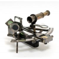 Buy cheap Nautical Sextant in leather case from wholesalers