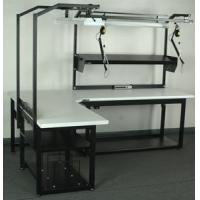Workstation Designer Adjustable L-Shaped Workstation