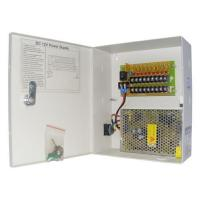 Buy cheap CCTV Camera power supply 12V15A 9CH from Wholesalers