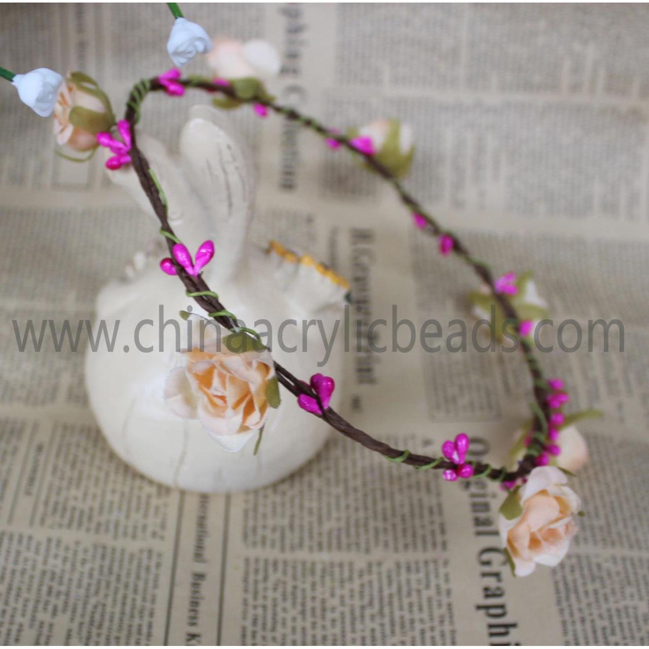 Buy cheap wedding bridal hair band ornament with flower wrea--FHC014 product