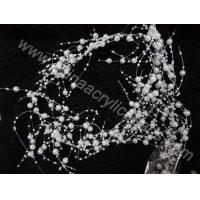 Buy cheap wedding wire beaded pearl string garland decoratio--YZB011 product