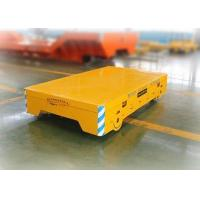 Buy cheap Anti - Explosion Heavy Duty Material Handling Carts For Metallurgy Industry product