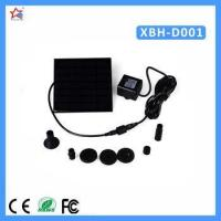 Buy cheap Solar operated pond fountain water pumps product