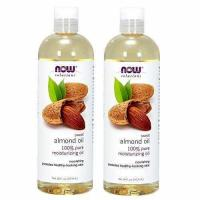 Buy cheap Now Foods Almond Oil 16oz 2-pack Total 32oz. product
