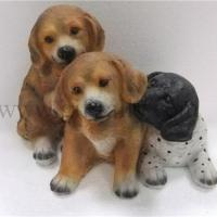 China P0026 Polyresin Dog figure on sale