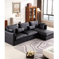Buy cheap Apartment Leather L Shaped Corner Sofa product